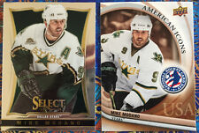 2 Mike Modano 2012 National Hockey Card Day USA #13 & 2013-14 Select #182 -Stars