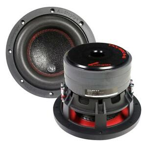 """1) Audiopipe TXXBDC46 6.5"""" Compsoite Cone Subwoofer Quad Magnet Woofer 250W RMS"""