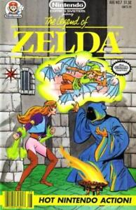 NINTENDO COMICS SYSTEM #7 [Featuring Legend of Zelda]