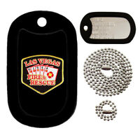Customized Military Dog Tag - Las Vegas Fire & Rescue Patch -FULL SET-Tag-Z Tags