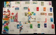 1972 - Olimpiadi di Monaco - Raccolta completa di 27 annulli su cartoline