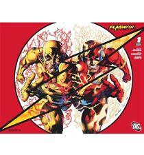FLASHPOINT #1 SDCC 2011 Wrap Rare Variant High Grade Flash Movie