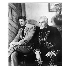 Guy Williams as Zorro Don Diego de la Vega Seated with Man 8 x 10 inch photo