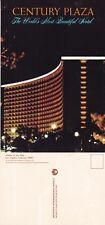 CENTURY PLAZA HOTEL LOS ANGELES CALIFORNIA UNITED STATES UNUSED COLOUR POSTCARD
