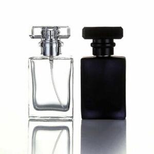30ml Atomizer Spray Pump Perfume Empty Glass Bottle Refillable Portable Travel