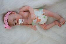 22'' bebe Reborn Baby Girl Doll Full Body Silicone Vinyl Newborn Lifelike gifts