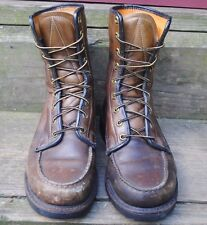 1970's Sears Leather Boots, Brown, Men's Size 8 Ee, Used, Good Condition