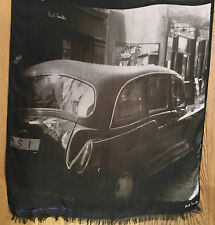 """Paul Smith LONDON PRINT SCARF """"DAY DREAMING WITH MY CAMERA Made in Italy"""