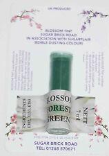 Sugarflair Forest Green Blossom Tint Powder, 7ml, Edible Food Colour Dust
