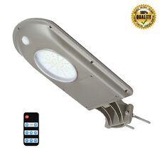Outdoor Solar Street Light Remote Control PIR Motion Sensor Dusk to Dawn Lamp