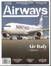 AIRWAYS MAGAZINE, AIR ITALY IN QATARI MOTION  JULY, 2018  VOL. 25  NO. 05  # 269