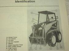 John Deere 125 Diesel Skid Steer Loader Operators Manual