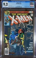 """X-Men #114 - CGC 9.2 - 1st use of """"Uncanny"""" in logo.  Sauron cameo."""