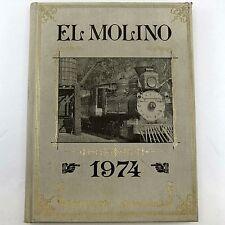 EL MOLINO 1974 Vintage HAWTHORNE HIGH SCHOOL YEARBOOK California COUGARS +Index