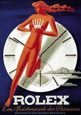 Poster Italien - size A3 cm. 31x42 Italy  - ROLEX