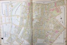 Orig 1911 Worcester, Ma City Hospital, Beaver Brook Play Ground, Plat Atlas Map