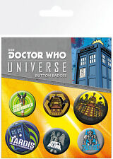 Doctor Who Alien Adventures (badge Pack)