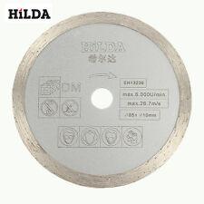 HILDA 10mm Silicon Carbide Saw Blade 85x1.8mm Diamond Saw Blade for Marble Ceram