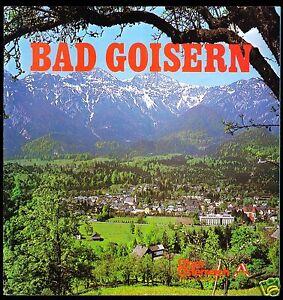 tour. Broschüre, Bad Goisern, Oberösterreich, um 1980