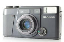【TOP MINT】 Fujifilm Fuji KLASSE 35mm Film Camera BLACK from JAPAN #0677