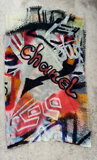 Chanel Eiffel Tower Graffiti Scarf / Shawl