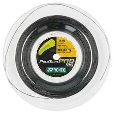 Yonex Poly Tour Pro 125 16L string 660ft/ 200m Reel Black