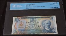 1979 $5 Bank note of Canada Test Note BC-53aT serie 33