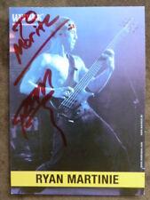 Ryan Martinie - Mudvayne (USA) - Musik - Autogrammkarte mit Unterschrift (m.W.)