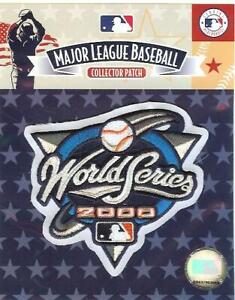 2000 World Series Sleeve Patch New York Yankees Mets Official MLB Jersey Logo