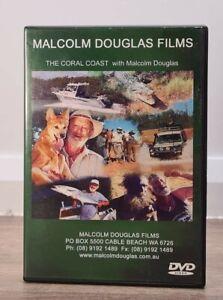 The Coral Coast with Malcolm Douglas Dvd 2001 The Crocodile Hunter Rare