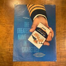 VINTAGE c.1960's 'ROTHMANS AIRLINE' CIGARETTES  MAGAZINE ADVERTISEMENT POSTER