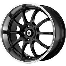 "Konig Lightning 18"" Black 5 Lug Wheel Rim - 5 x 100 mm - Part # LI88510355 - NEW"