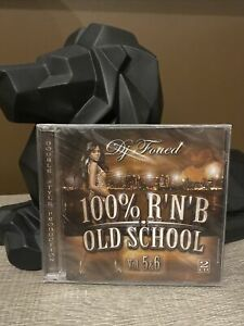 Dj Foued 100% Rnb Old School Volumes 5&6 Double CD Neuf Sous Blister & Rare