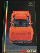 1/24 Fujimi Ferrari 288 GTO Enthusiast Model Original Issue