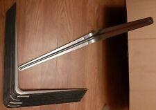 London Metal Shelf Brackets- Grey. Large 350mm. Qty- 10.