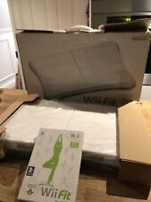 Boxed Nintendo Wii Fit Board And Game