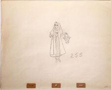Walt Disney Vintage Original Production Drawing c1959 Briar Rose Sleeping Beauty