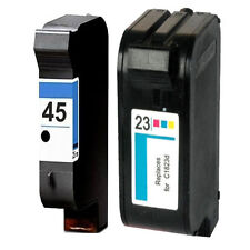 Non-OEM Replaces Fit For HP 23 & 45 Deskjet 710C 712C 720C Ink Cartridges