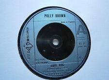 """POLLY BROWN: Love Bug (GTO Records) 1976 7"""" Single"""