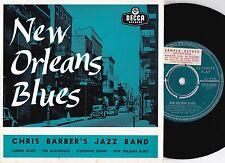 Chris Barber ORIG OZ Promo EP New Orleans blues EX '57 Trad Jazz Dixieland Decca