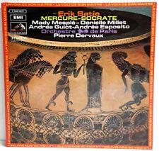 """12"""" Vinyl - ERIC SATIE - Mercure-Socrate - Orchestre de Paris / Pierre Dervaux"""