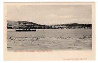 Vapeur Brise Glaces MONTCALM Cap Rouge Quebec 1905-13 Canada Photo Post Card 9