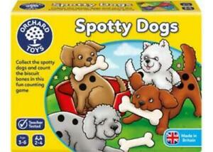 Spotty Dogs Counting Game Orchard Toys OC001