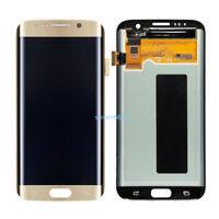 Pantalla táctil LCD Display Digitizer Para Samsung Galaxy S7 edge G935F G935 Oro
