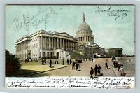 The Capitol Building, Vintage Washington DC c1907 Postcard
