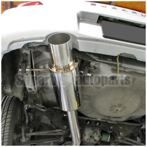 For 2002-2007 Subaru Impreza WRX STI 2.0L 2.5L Stainless N1 Catback Exhaust