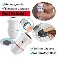 Electric Vacuum Adsorption Foot Grinder Pedicure Tools Dead Skin Remover~