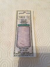 Madeira Embroidery Thread 5 Mtr Pale Lilac No.1803 12