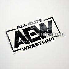 AEW Wrestling Sticker Decal 10 Inch All Elite Wrestling Car Decal Window Locker