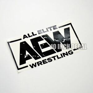 AEW Wrestling Sticker Decal 10 Inch All Elite Wrestling Car Decal Window Locker